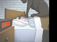 """うつ病患者の見る世界を""""黒犬""""で表現した動画が話題に 患者から「驚くほど的確」の声 - Peachy(ピーチィ) - ライブドアニュース"""