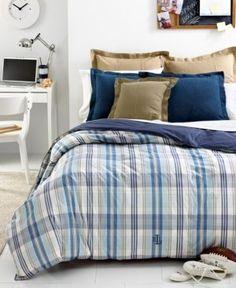 Lauren Ralph Lauren Sundeck Lightweight Reversible Down Alternative Twin Comforter - Blue