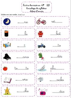 carnets de recherches - La Classe Atelier Learning French For Kids, Teaching French, French Language Lessons, French Lessons, French Worksheets, Worksheets For Kids, French Basics, French Alphabet, School Checklist