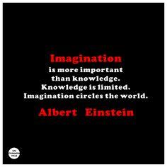 Imagination circles the world. -- Albert Einstein #quotes #inspiration