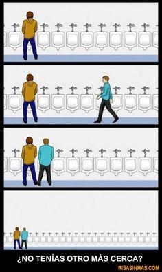 Baño de hombres. #humor #risa #graciosas #chistosas #divertidas