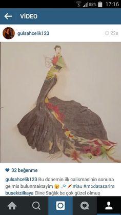 Moda resmi dersi ilk çalışma #cizim