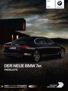 https://flic.kr/p/P6Wpwh | BMW 7er. Preisliste. (Daten Facts); 2015, 2016_1