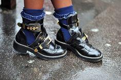 Tendências em sapatos do outono gringo