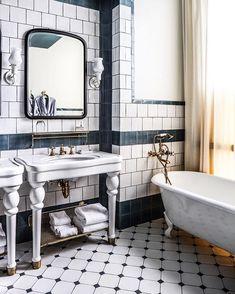 bathroom goals @zioandsons - at The Hotel Emma