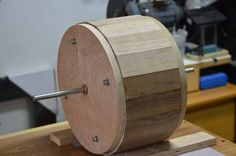 Router Jig for making round boxes