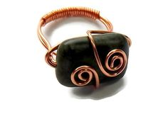 We have rings. Green Serpentine with copper wire spirals. You'll look fabulous wearing it! 2016 Summer Collection - RiverGlass Creations (scheduled via http://www.tailwindapp.com?utm_source=pinterest&utm_medium=twpin&utm_content=post33510206&utm_campaign=scheduler_attribution)