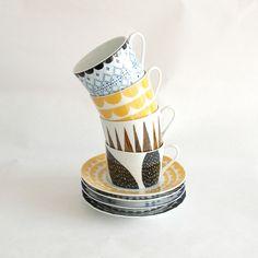tower of house of rym scandinavian interior design cups