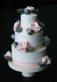 quilled wedding cake 2