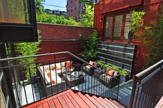 South End Townhouse - Contemporary - Patio - Boston - Jacalyn Gould Landscape Architect