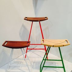 Roberts Stools by Ohio's Tronk Design.