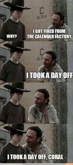 296 Best Twd Carl Rick Memes Images Walking Dead Funny