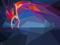 10.Multicolored Olympics 2012