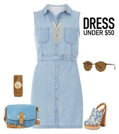 outfit 4160 by natalyag on Polyvore featuring polyvore fashion style Dorothy Perkins Report Michael Kors Tory Burch Gemelli Ray-Ban clothing Dressunder50