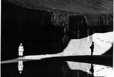 Todd Webb, Georgia O'Keeffe and Eastborn Smith in Twilight Canyon, Lake Powell, 1964 Georgia O'keeffe, Berenice Abbott, O Keeffe, Lake Powell, French Photographers, Photo Black, Shades Of Black, White Photography, Contemporary Photography