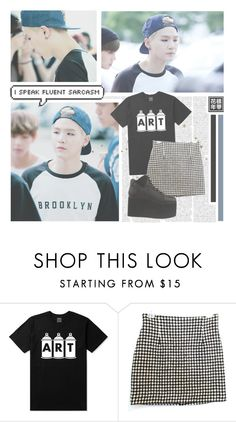 """""""Tomorrow--- BTS"""" by alicejean123 ❤ liked on Polyvore featuring Y.R.U., women's clothing, women, female, woman, misses and juniors"""