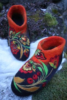 Log in to your Etsy account. Russian Folk, Felting, Painting, Etsy, Shoes, Zapatos, Shoes Outlet, Painting Art, Paintings