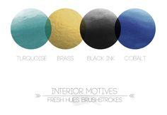 *brushstrokes* | color palette | fresh hues