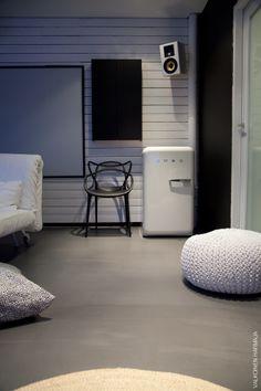 saunatupa - valkoinen harmaja
