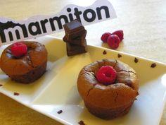 Recette : Muffins chocolat et framboise - Une recette de cuisine Marmiton
