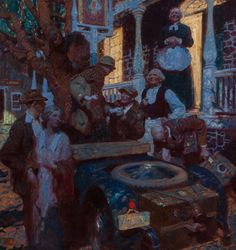SHEAR [in-spuh-rey-shuhn], DEAN CORNWELL The Great Things of Life-Travel  ...