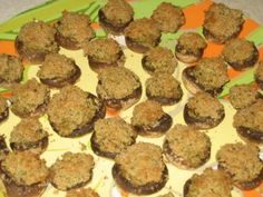 Mission: Food: Adventures in Goat Cheese- Goat Cheese Stuffed Mushrooms