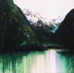 Passenger oil & acrylic on canvas stretcher size 918 x Oil, River, Mountains, Canvas, Nature, Outdoor, Painting, Outdoors, Painting Art