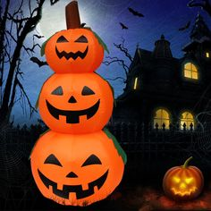 1.2m Inflatable Halloween Pumpkin For Event Decoration