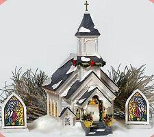 Silent Night Church NEW Department Dept. 56 Snow Village D56 SV