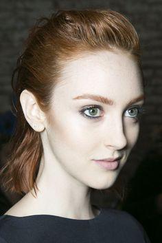 Pretty eye makeup at Rebecca Taylor   Fashion Week Fall 2013