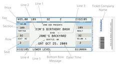 Fake Concert Ticket Generator [Nancy Dohr's find] Link: http://www.faketicketgenerator.com/