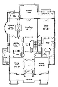 Print This Floor Plan All Plans Front Elevation Drawing For English Manor  Home Design Birmingham