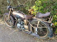 Motobecane d45 125cc classic motorcycle