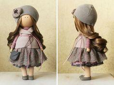 Muñeca decoración muñeca bebé muñeca única por AnnKirillartPlace