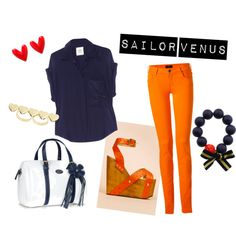 """""""Sailor Venus Inspired"""" by erinforevermore on Polyvore"""