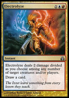 Electrolyze ($2.21) Price History from major stores - Guildpact - MTGPrice.com Values for Ebay, Amazon and hobby stores!