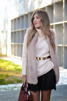 LACE SKIRT & PINK | Mi aventura con la moda