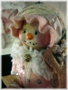 Nancy Malay's Victorian Whimsies sales page: Pink, polka-dots, old lace and Valentines..........