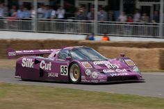Jaguar XJR-12. I met the current owner of this car at 2012 Goodwood Festival of Speed.