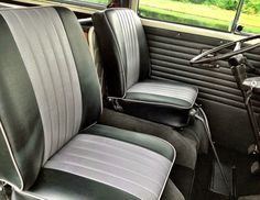 front seats early bay camper