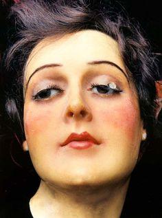 photo by Barbara Abel of antique wax mannequins Mannequin Display, Vintage Mannequin, Dress Form Mannequin, Mannequin Heads, Antique Wax, Head & Shoulders, Effigy, Antiques, Model