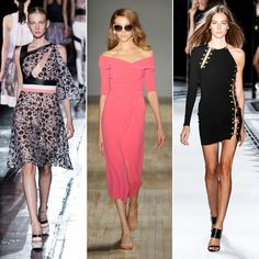 Instead of adding shoulder pads to exude strength, this season's designers thankfully packed away any notion of power suits and instead took the less-is-more approach with shoulder-baring looks. Whether off-the-shoulder or bold one-shoulder necklines, it's going to be the quintessential way to show off many women's finest assets.