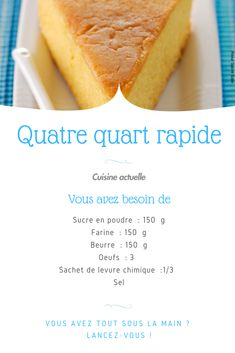 Quatre quart rapide Easy four quarter recipe, quick recipe, four quarter. The post Four quarter fast appeared first on Trending Hair styles. Chicken Pasta Recipes, Healthy Chicken Recipes, Healthy Breakfast Recipes, Meat Recipes, Snack Recipes, Dessert Recipes, Spaghetti Nester, Desserts With Biscuits, Tumblr Food