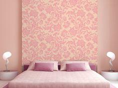 Ideas Wallpaper Pink Vintage Colour For 2019 Room Wall Colors, Wall Paint Colors, Bedroom Paint Colors, Living Room Colors, Wall Colours, Asian Paint Design, Asian Paints Wall Designs, Paint Designs, Stencil Designs