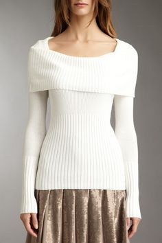 BCBGMA Cowl Neck Sweater