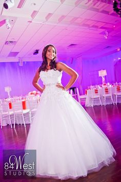Gorgeous quince/sweet 16 dress