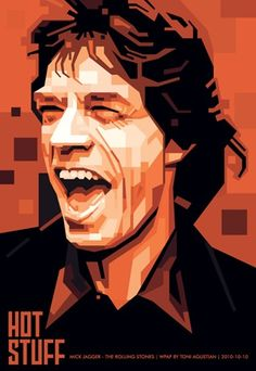 WPAP (Wedha's Pop Art Portrait) by Toni Agustian