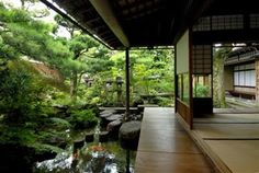 Love to have a place like this// Unique and antique traditional Japanese design house-backyard
