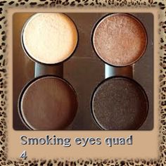"""MAC Quad - my """"must have"""" -  for brown or hazel eyes"""