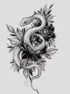 21 ideas for tattoo leg snake 21 ideas for tattoo leg snake Tattoo Design Drawings, Small Tattoo Designs, Tattoo Sleeve Designs, Designs To Draw, Serpent Tattoo, Tattoo Snake, Tattoo Cobra, Best Sleeve Tattoos, Sleeve Tattoos For Women